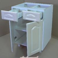 Стол рабочий с 2-мя м.ящиками двустворчатый